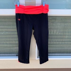 Under Armour Women's Large Cropped Leggings